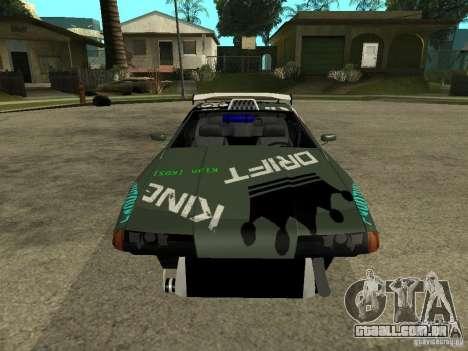 Vinil sobre a elegia para GTA San Andreas terceira tela