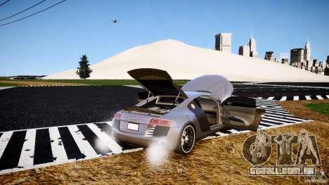 Audi R8 2008 para GTA 4 vista superior