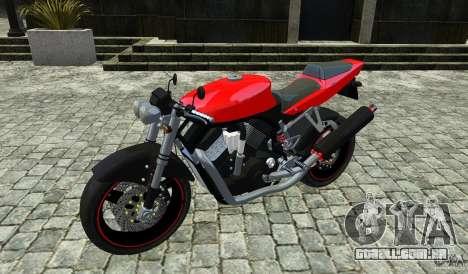Suzuki Street Fighter Custom para GTA 4 vista de volta