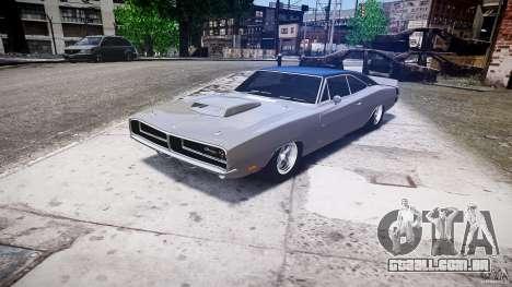 Dodge Charger RT 1969 tun v 1.1 baixo passeio para GTA 4