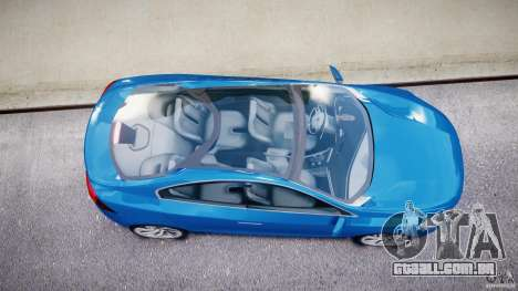 Volvo S60 Concept para GTA 4 vista superior