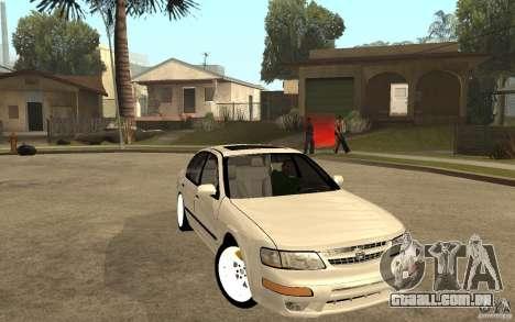 Nissan Maxima 1998 para GTA San Andreas vista traseira