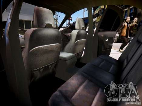 Ford Falcon XR-8 para GTA 4 vista interior
