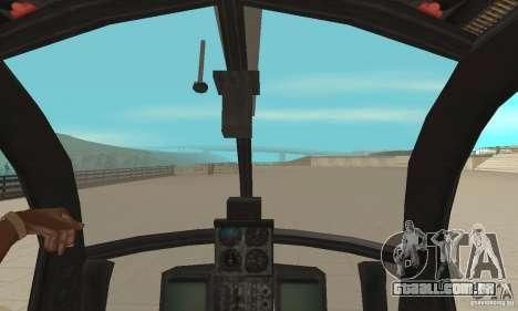 AH para GTA San Andreas vista traseira