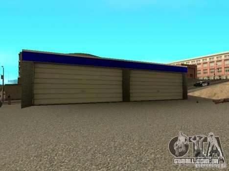 Garagem em San Fierro para GTA San Andreas terceira tela