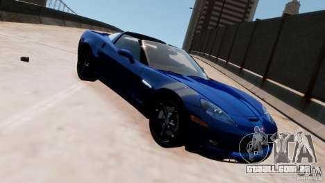 Chevrolet Corvette Grand Sport 2010 para GTA 4 esquerda vista