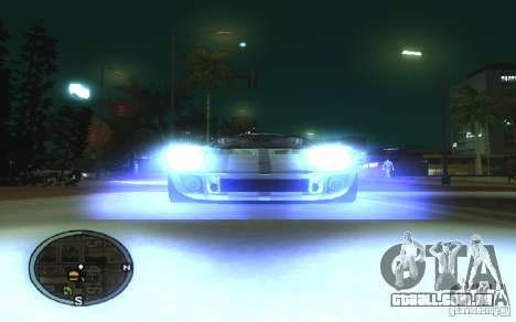 Xenon v4 para GTA San Andreas