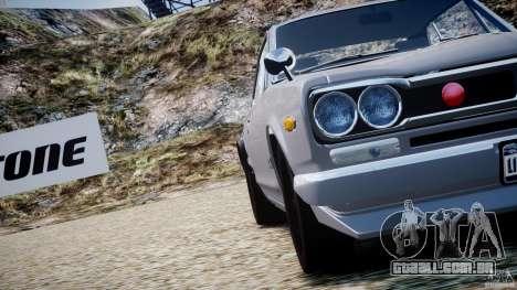 Nissan Skyline 2000 GT-R para GTA 4 motor
