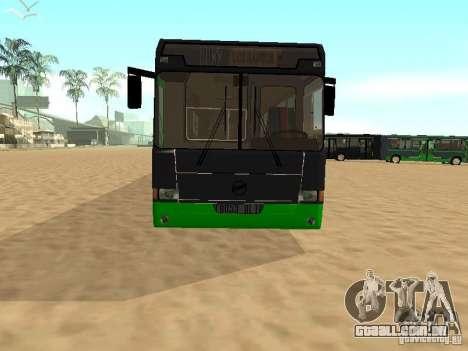 LIAZ 6212 para GTA San Andreas vista direita