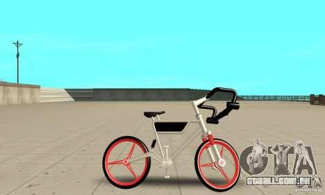 Wind Solar MT Bike para GTA San Andreas traseira esquerda vista