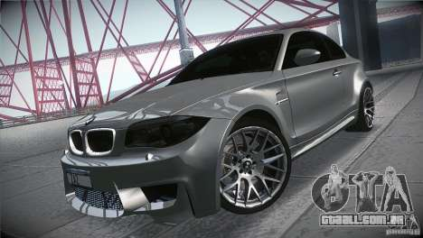 BMW 1M E82 Coupe 2011 V1.0 para GTA San Andreas