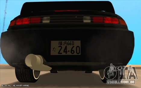 Nissan Silvia s14 Tuned Drift v0.1 para GTA San Andreas vista direita