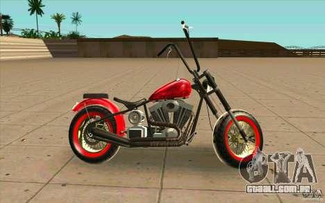 Zombie GTAIV para GTA San Andreas esquerda vista