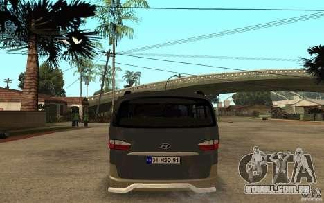 Hyundai Starex para GTA San Andreas vista direita