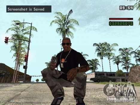 Lançador de granadas para GTA San Andreas segunda tela