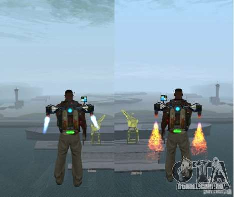 Overdose Effects v 1.4 para GTA San Andreas segunda tela