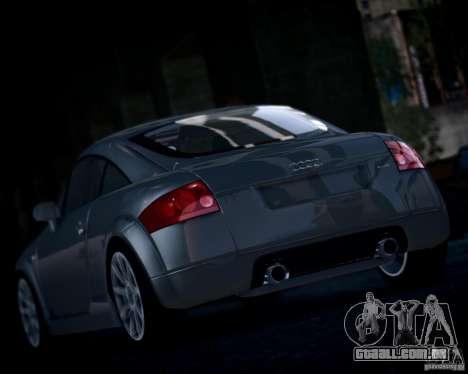 Audi TT 2004 para GTA 4 vista direita