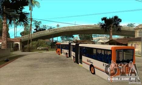 Caio Induscar Millenium II para GTA San Andreas traseira esquerda vista