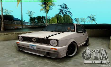 VolksWagen Golf LS para GTA San Andreas vista interior