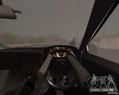 Mazda Savanna RX-7 FC3S para GTA San Andreas vista interior