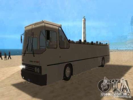 IKARUS 250 conversível para GTA San Andreas traseira esquerda vista