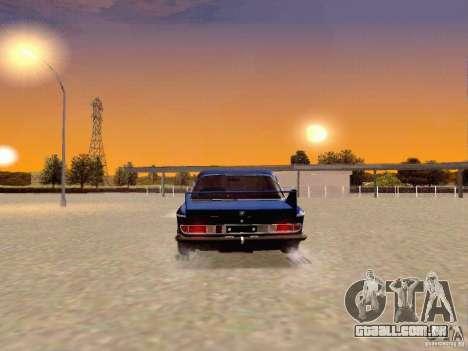 BMW 30 CSL Drift para GTA San Andreas traseira esquerda vista