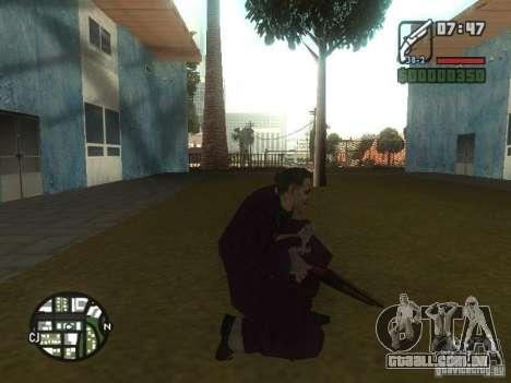 HQ Joker Skin para GTA San Andreas sétima tela