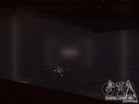 Água de HQ para GTA San Andreas sexta tela
