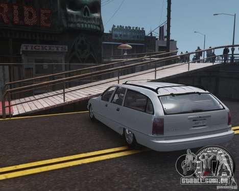Chevrolet Caprice Wagon 1993 para GTA 4 traseira esquerda vista