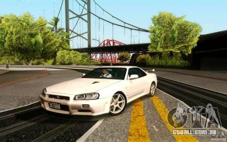 New Graphic by musha v3.0 para GTA San Andreas sexta tela