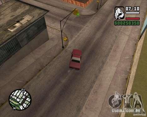 Câmera como em GTA Chinatown Wars para GTA San Andreas terceira tela
