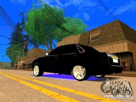 LADA 2170 Priora Gold Edition para GTA San Andreas vista direita