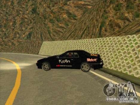 Vinil de metal Drift para GTA San Andreas vista direita