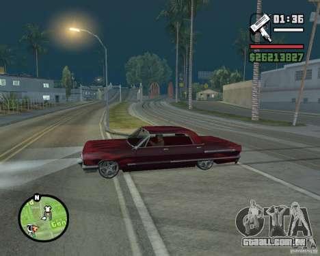Novos ícones do mapa para GTA San Andreas terceira tela