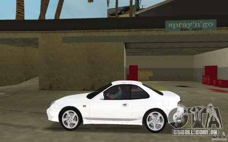 Honda Prelude 2.2i para GTA Vice City deixou vista