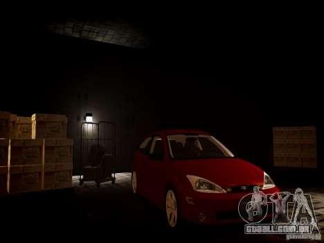 Ford Focus SVT 2003 para GTA 4 vista direita