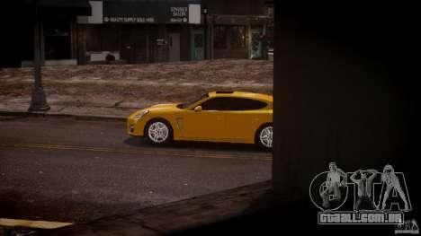 Porsche Panamera Turbo S para GTA 4 esquerda vista
