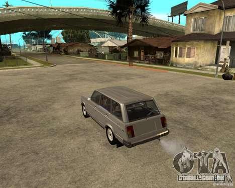 VAZ 21047 para GTA San Andreas esquerda vista