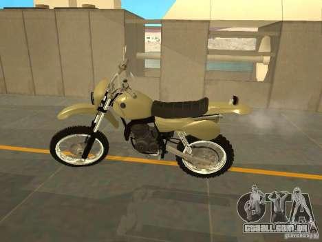 Čezet da motocicleta para GTA San Andreas