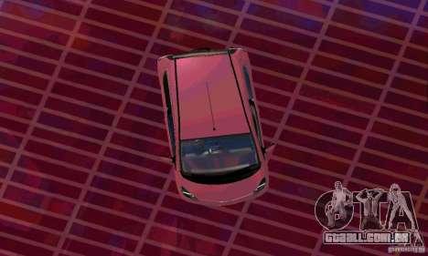 Toyota Aygo V1.0 para GTA San Andreas traseira esquerda vista