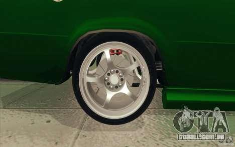 Esporte de Lada VAZ-2101 para o motor de GTA San Andreas
