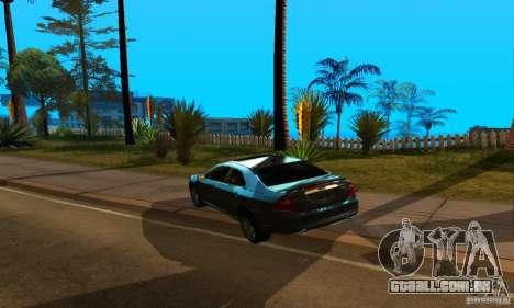 Ford Fusion Sport para GTA San Andreas esquerda vista