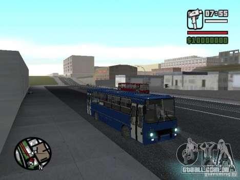 Ikarus 260.51 para GTA San Andreas traseira esquerda vista