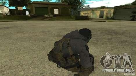 Ghost para GTA San Andreas por diante tela