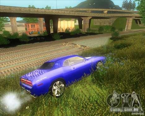 Dodge Challenger concept para GTA San Andreas vista direita