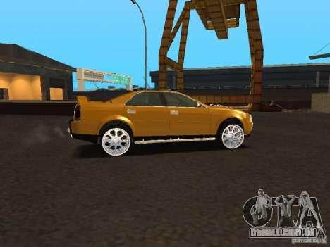 Hummer H0 para GTA San Andreas esquerda vista