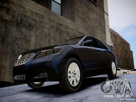 Toyota Camry para GTA 4 vista direita
