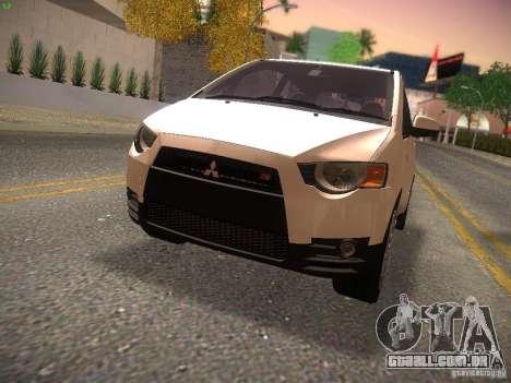 Mitsubishi Colt Rallyart para GTA San Andreas
