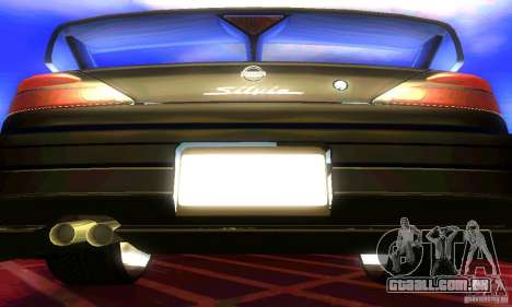 Nissan Silvia S15 8998 Edition Tunable para GTA San Andreas vista interior