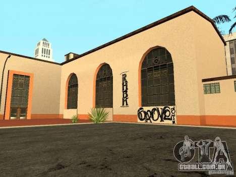 Novas texturas para a estação da unidade para GTA San Andreas segunda tela